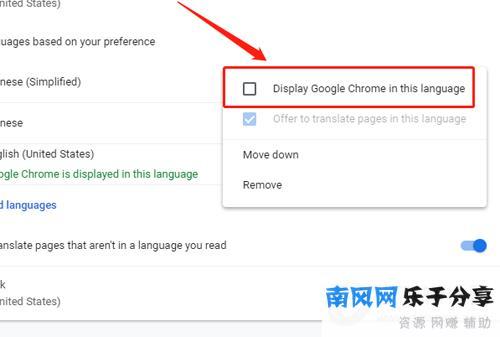 谷歌浏览器勾选DGCITI选项