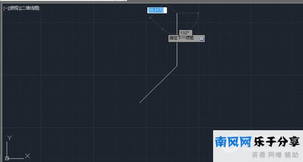 AutoCAD2021怎么输入相对极坐标