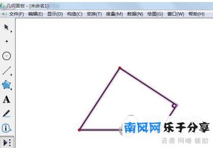 几何画板怎么计算长度