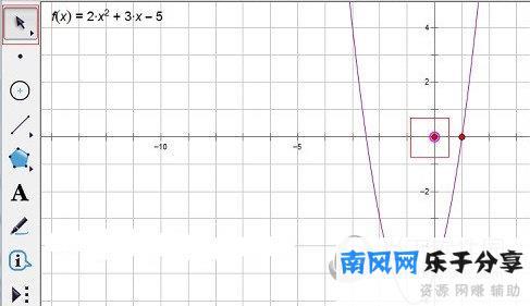 几何画板怎么调整函数图像