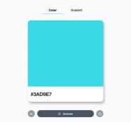 UI设计师:随机生成颜色OR渐层色组合显示CSS3代码