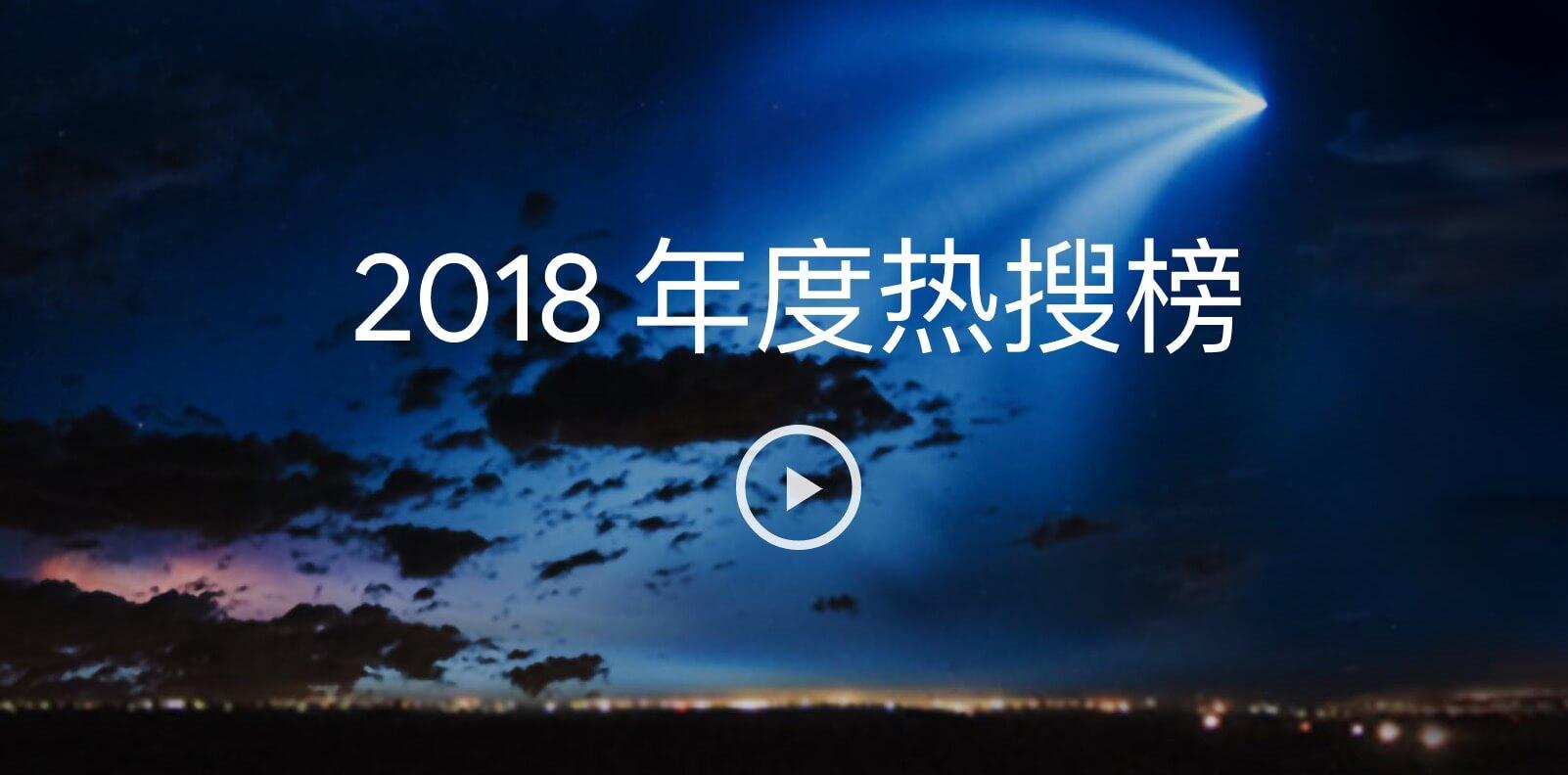 谷歌发布2018年度热搜榜:世界杯排第一 还有一个中文词在首位 - 小偷娱乐网