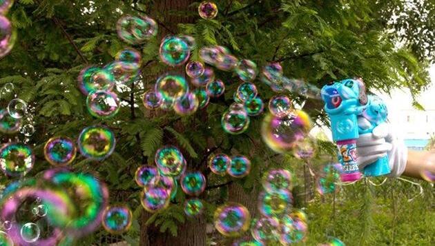 微商做什么赚钱,利用泡泡机网红玩具赚钱月入5w