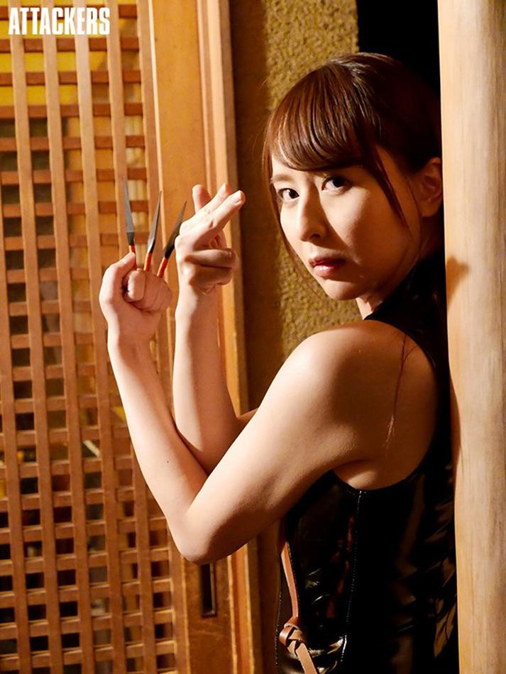 岬奈奈美 SHKD-867:正义女忍者「希崎洁西卡」使命失落败沦为性宠物