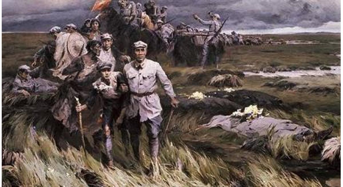 中国红军为什么要长征,长征路线是什么?
